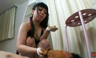 Slave Fed And Smeared With Poop – Part 2