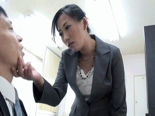 Nasty Boss Dominates Subordinate Using Her Scat