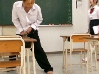 Nasty Students Shit On Desperate Teacher