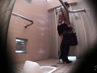 Spy Cam Catches Women Shitting Cluelessly In Public Toilets