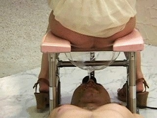 Spoiled Brats Hire A Toilet Slave To Clean Their Ass-holes