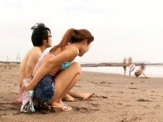 Public Shitting On The Beach