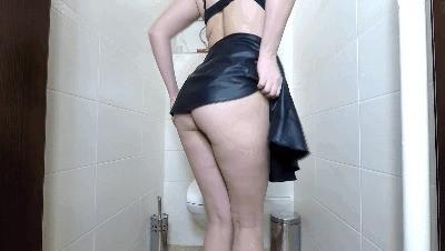 Desperation Log On Toilet Seat