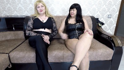 Two Mistress Shit A Slave In The Mouth