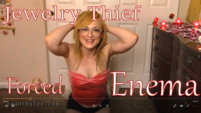Jewelry Thief Blackmail Enema