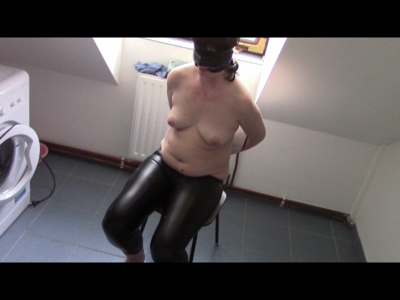 Peeing In Tight Leather Leggings