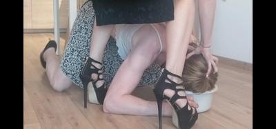 Umiliated Sissy Slut With Shit Of Mistress Jardena
