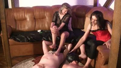 Mistress Roberta And Victoria Kaviar Coerced Feedings