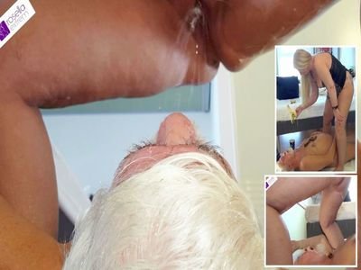 Fat Crap Sausage Shitting In The Senior Slave Mouth Part 2