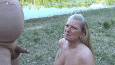 Public Scandal At The Lake Of 25 Dudes Piss And Sperm Swallowed