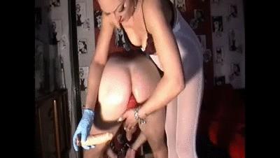 Goddess Anita Kaviar Feeding With Dildo In Mouth