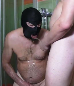 Master Mike CBT And Piss Drinking With Toilet