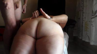 Handcuffing Her And Piss On Her Ass