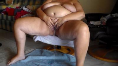She Is Taking A Piss On The Livingroom Floor