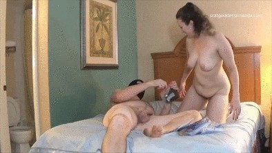 Filthy Shitty Play With Masked Slut