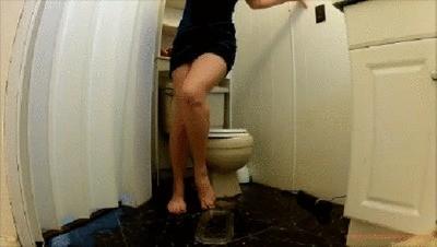 Velvet Mini Dress Poop Naughty Instructions