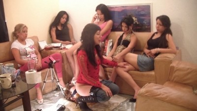 14 Damsels And A Floor Level Toilet Slave Part 15