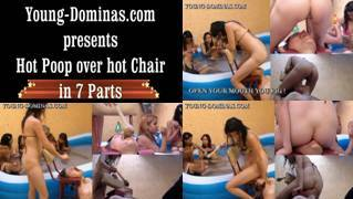 Hot Poop Over Hot Chair Part 2