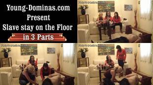 Slave Stay On The Floor Part 1