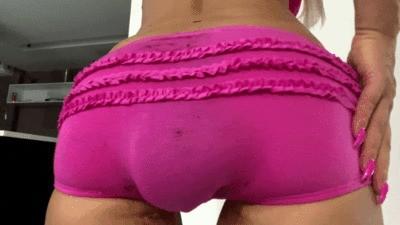 Pink Baby Panties Load