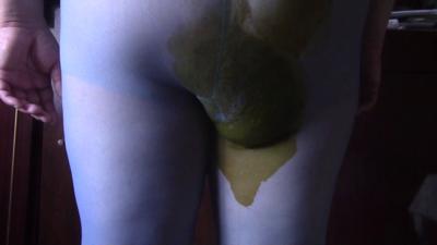 Oxana Nylon Poop Servant