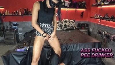 Mistress Gaia – Ass Fucked Pee Drinker