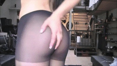Mistress Gaia Trough Her Sexy Pantyhose