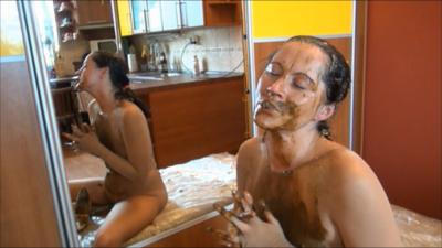 Scat In Pantyhose Pervert Show