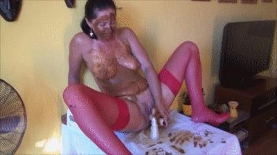 Potty Shit And Masturbation