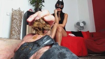 Eat Our Cornea Slave Cunt Scatpart Part 2
