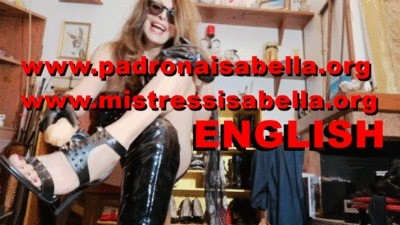 Camshow For You Slave By Mistress Isabella