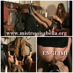 Mistress Isabella Scat Big Surprise