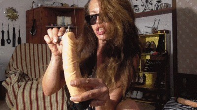 Shitting On A Dildo By Mistress Isabella